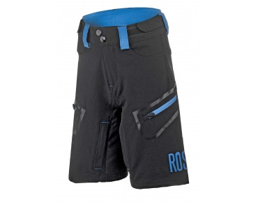 ROSE 4 WAY KIDS kinderbikeshorts black/blue