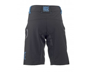 ROSE 4 WAY KIDS bike shorts black/blue