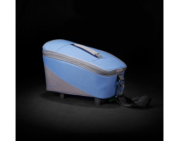 Racktime TALIS trunk bag berry blue/stone grey