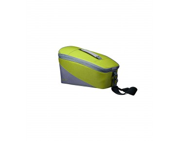 Racktime TALIS trunk bag lime green/stone grey