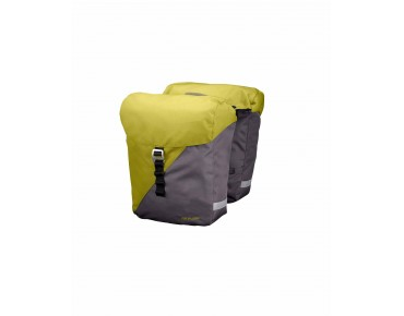 VIDA panniers lime green/stone grey