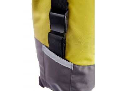 Racktime LIVA pannier lime green/stone grey