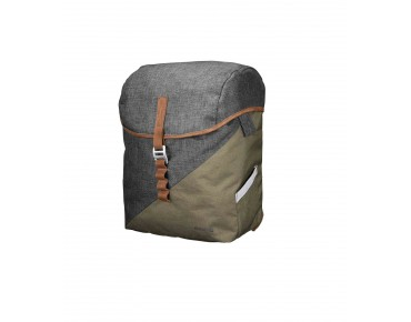 Racktime MIA pannier peat bog green/dust grey
