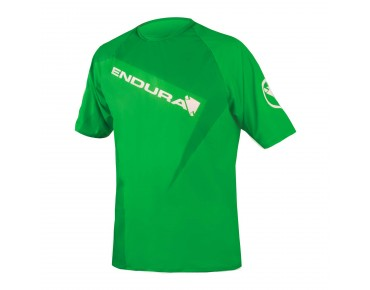 ENDURA SINGLETRACK PRINT II shirt kelly green