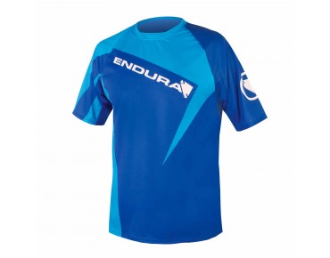 ENDURA SINGLETRACK PRINT II shirt blue