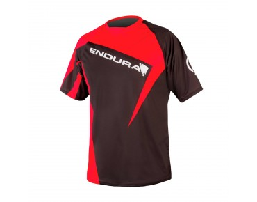 ENDURA SINGLETRACK PRINT II shirt red