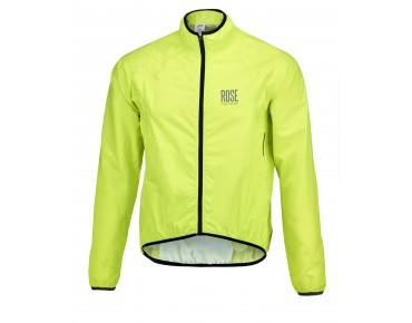 ROSE RR 05 waterproof jacket fluo yellow