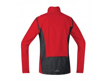 GORE BIKE WEAR ELEMENT WS AS zip-off jacket red/black