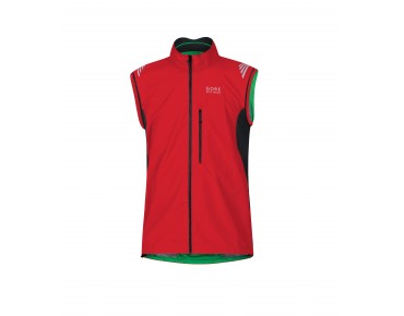 GORE BIKE WEAR ELEMENT WS AS Zip-off-Jacke red/black