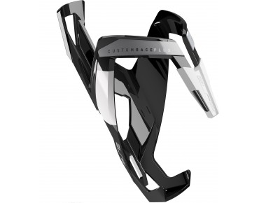 Elite Custom Race Plus bottle cage black/white