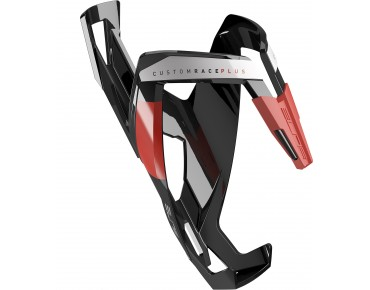 Elite Custom Race Plus bottle cage black/red
