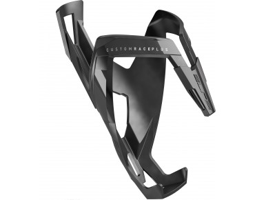 Elite Custom Race Plus bottle cage grey/black soft touch