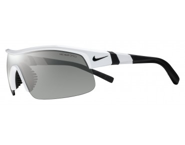 Nike SHOW X1 sports glasses set white-black/grey w silver flash