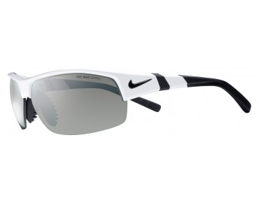 Nike SHOW X2 sports glasses set white-black/grey w silver flash