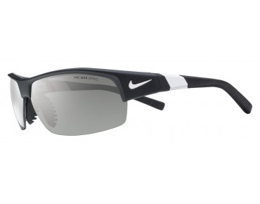 Nike SHOW X2 sports glasses set matte black-white/grey w  silver flash