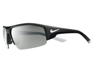 Nike SKYLON ACE XV sports glasses matte black-white/grey w  silver flash