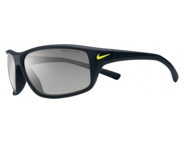 Nike ADRENALINE - occhiali black-volt/grey w silver flash
