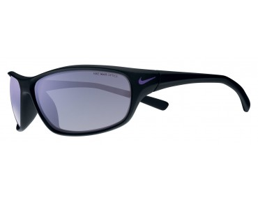 Nike RABID Sportbrille matte black-electric purple/grey w ml violet flash