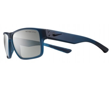 Nike MAVRK sports glasses matte squardron blue-black/grey w silver flash