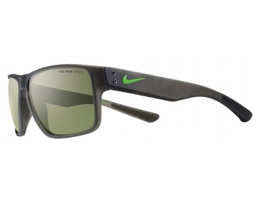 Nike MAVRK sports glasses matte deep pewter-green pulse/green