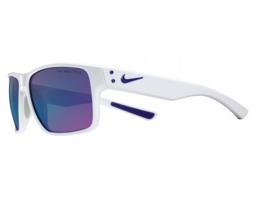 Nike MAVRK sports glasses white-electric purple/grey w ml violet flash