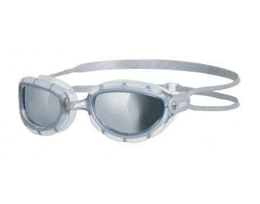 Zoggs Predator swimming goggles transparent-silver/mirrored lens