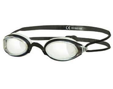 Zoggs Fusion Air swimming goggles black/clear lens