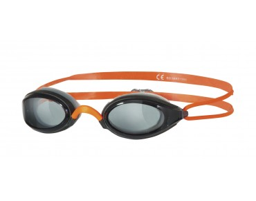Zoggs Fusion Air Schwimmbrille smoke-orange/graue Scheibe ltd.