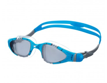 Zoggs Aqua Flex swimming goggles blue-transparent/grey mirror