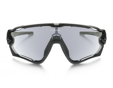 OAKLEY JAWBREAKER sports glasses polished black/clear to black photochromic