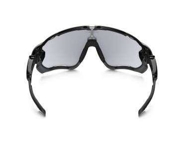 OAKLEY JAWBREAKER - occhiali polished black/clear to black photochromic