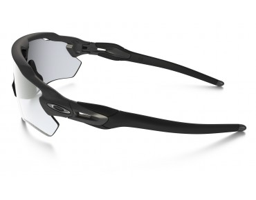 OAKLEY RADAR EV Path Sportbrille steel/clear black iridium photocromatic