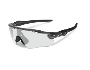 OAKLEY RADAR EV Path - occhiali steel/clear black iridium photocromatic