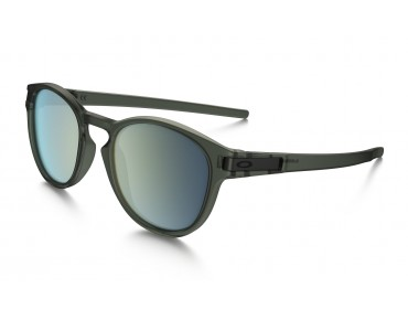 OAKLEY LATCH Brille matte olive ink w/emerald iridium