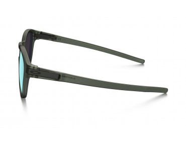 OAKLEY LATCH glasses matte olive ink w/emerald iridium