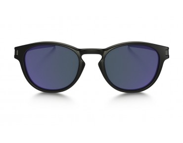 OAKLEY LATCH Brille matte black w/violet iridium
