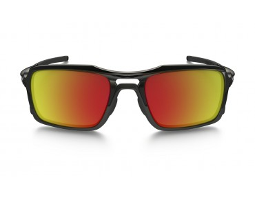 OAKLEY TRIGGERMAN Brille polished black w/ruby red iridium