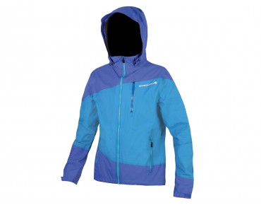 ENDURA SINGLETRACK waterproof jacket blue