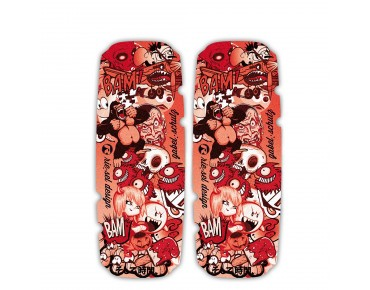 rie:sel design gabel:schutz  stickerbomb red