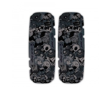 rie:sel design gabel:schutz  stickerbomb ultra black