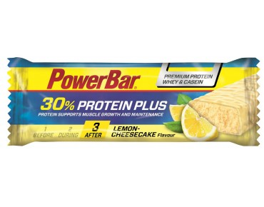 PowerBar Protein Plus 30% bar – RICH IN HIGH-QUALITY PROTEIN Lemon-Cheesecake