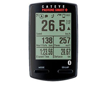 Cateye Padrone Smart CC-SC100B bike computer with cadence sensor schwarz