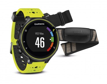 Garmin Forerunner 230 GPS watch incl. HR strap black/yellow