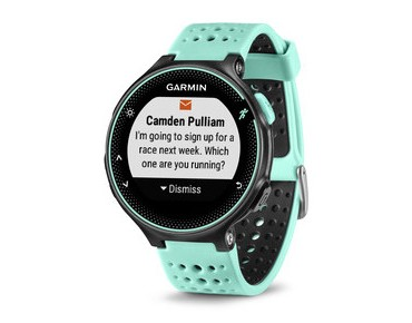 Garmin Forerunner 235 GPS watch frost blue