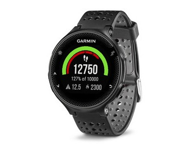 Garmin Forerunner 235 GPS watch black/grey
