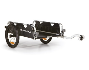 Burley FLATBED bicycle trailer schwarz