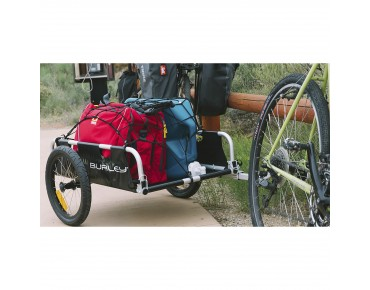 Burley FLATBED bicycle trailer black