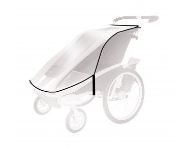 Rain cover for THULE Cougar/ CX child bike trailer
