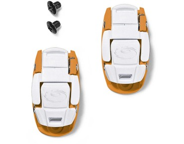 SIDI CALIPER BUCKLE Ratschenverschluss orange/white