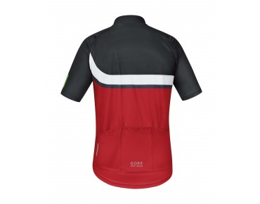 GORE BIKE WEAR POWER TRAIL bike shirt red/black